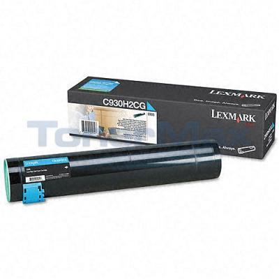 LEXMARK C935 TONER CARTRIDGE CYAN HY